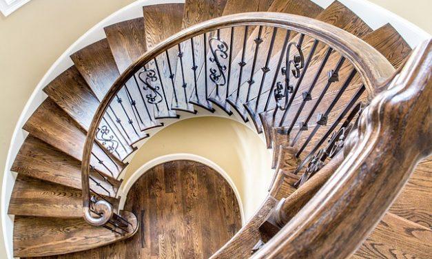 Les différents types d'escaliers